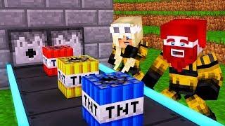 WIR KAUFEN UNENDLICH STARKES TNT! Minecraft TNT Simulator