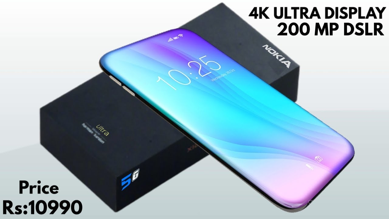 Nokia X200 - 6000 mAh Battery200 Camera, 8GB Ram, 512GB, 5G,Ultra HD 4K,New 2021 Specs Get a Website