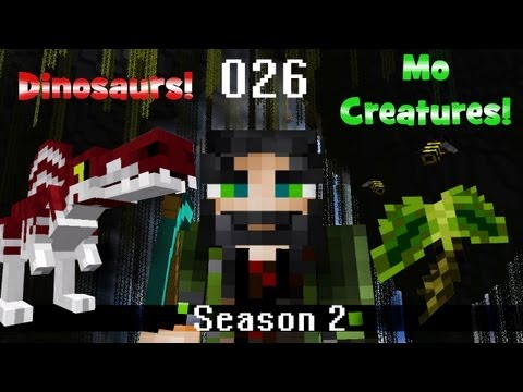 "Minecraft Dinosaurs and Mo Creatures - Season 2 - Ep. 026 - Our Own ""Sue"" T-Rex =)"