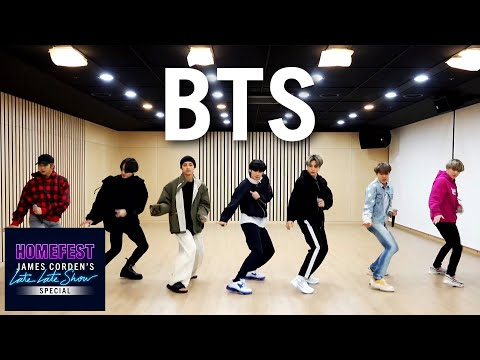Bts Performs 'boy With Luv' In Quarantine   #homefest
