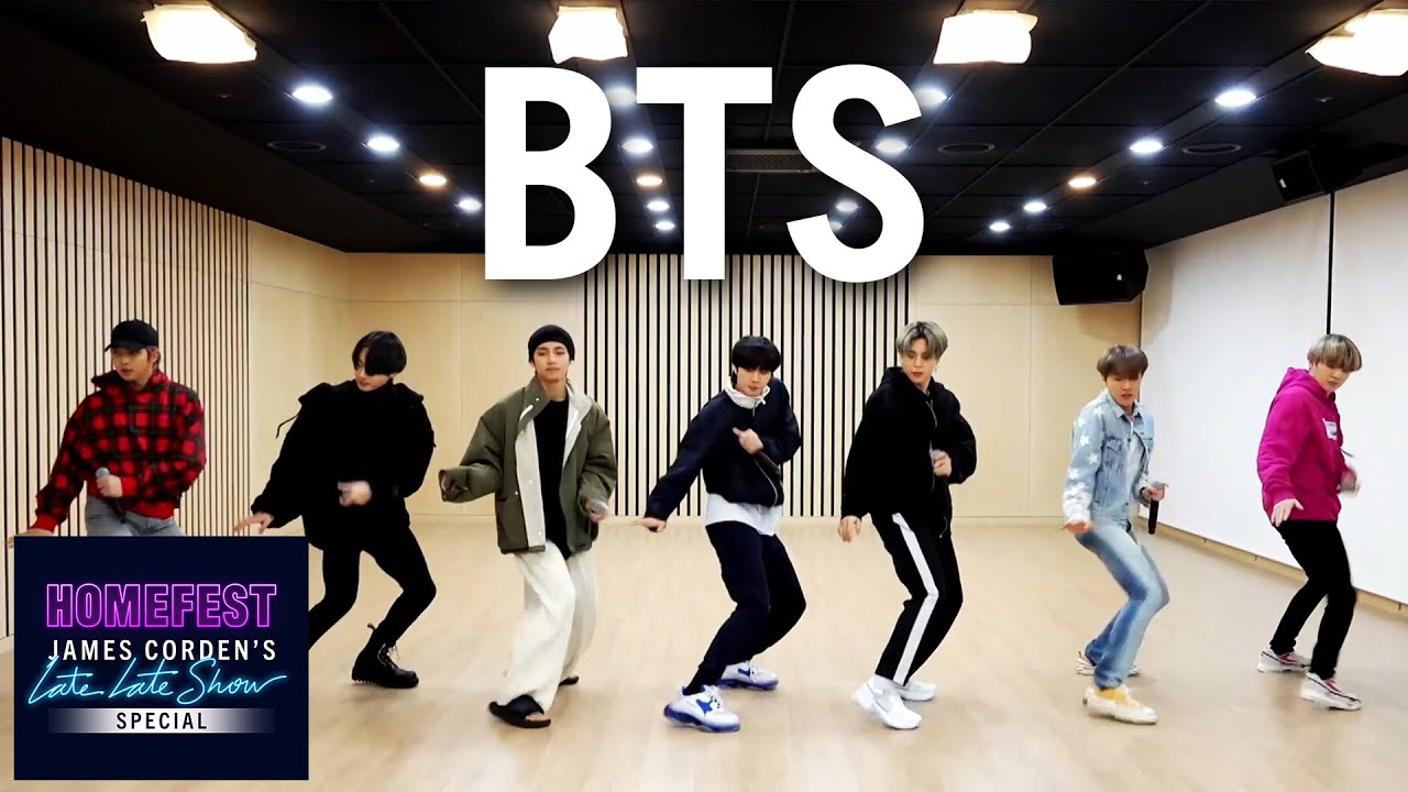 Download BTS Performs 'Boy with Luv' In Quarantine - #HomeFest