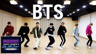 BTS Performs 'Boy with Luv' In Quarantine - #HomeFest