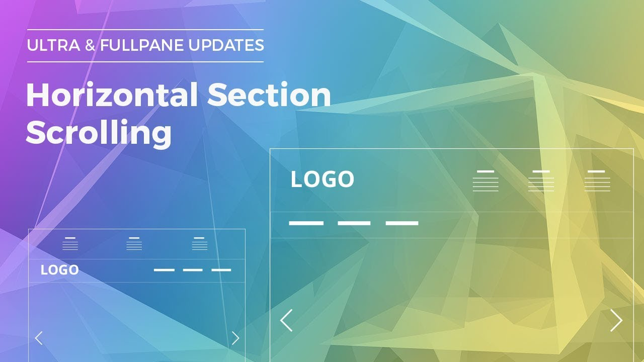 Tutorial: Horizontal Section Scrolling