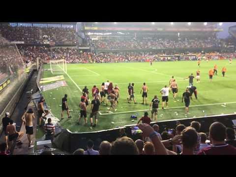 FK Spartak Subotica vs AC Sparta Praha 2. 8. 2018 Hooligans