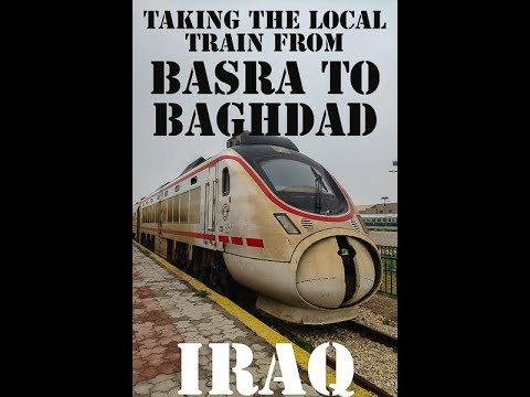 Taking The Local Train From Basra To Baghdad In Iraq.