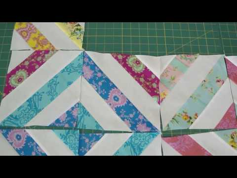 """Make a """"Summer in the Park"""" Quilt Using Jelly Rolls"""