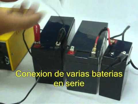 Cargador de baterias para motocicletas youtube - Cargador de baterias ...
