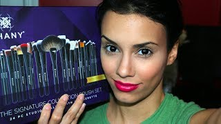 Shany Cosmetics 24 PC Signature Collection Brush Set Review
