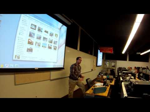 Part 1 - Doug Martin, Presentation about job as Electronics Technician in Natural Gas Industry