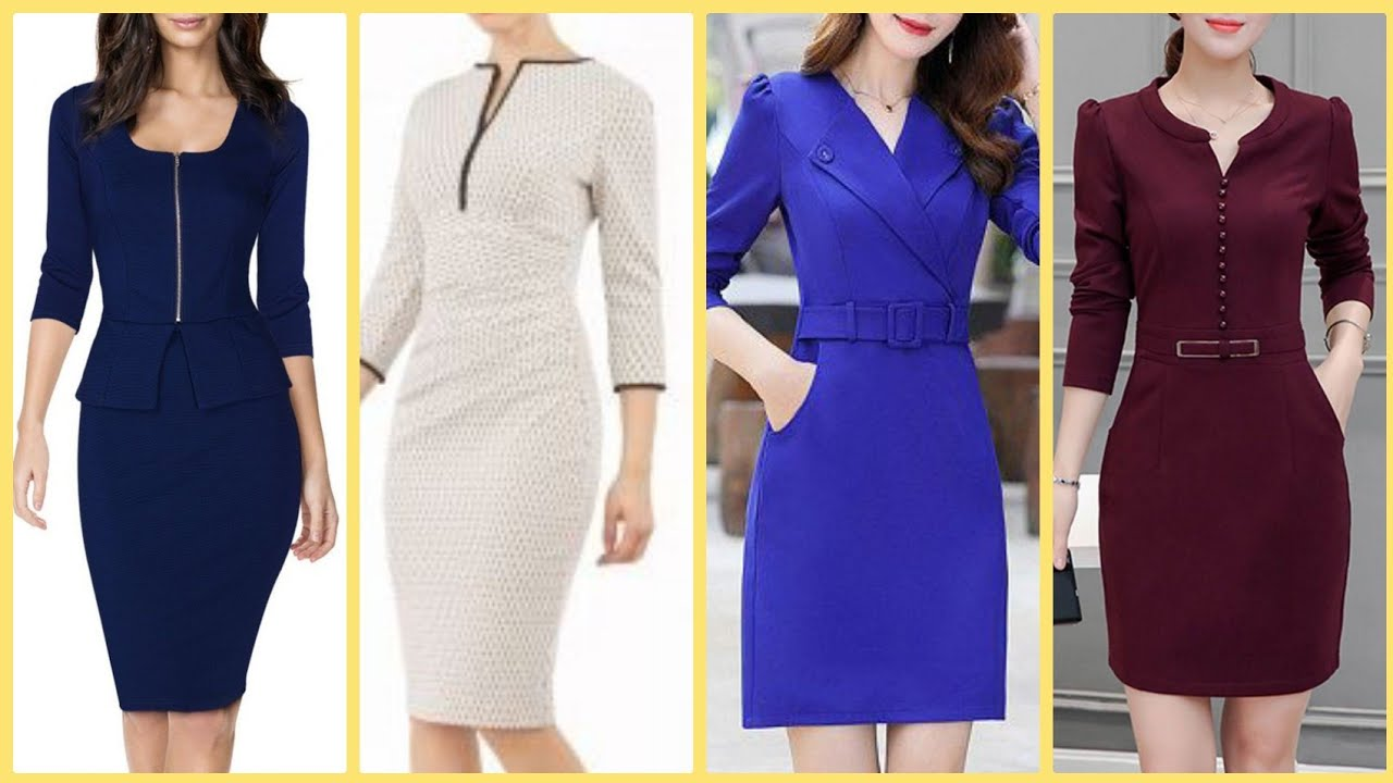 [VIDEO] - Outstanding Spring Summer Knee Length Skatter Bodycone Outfits For Office Work 1