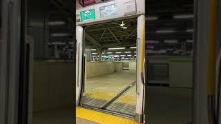 【JR東日本 ドア開閉】JR東京駅3番線発車メロディ『JR-SH5東京駅Ver』&京浜東北線E233系1000番台ドア開閉シーン