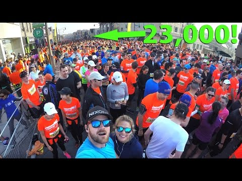 We ran the 2017 SPORTING LIFE 10K! | GoPro | Toronto Canada