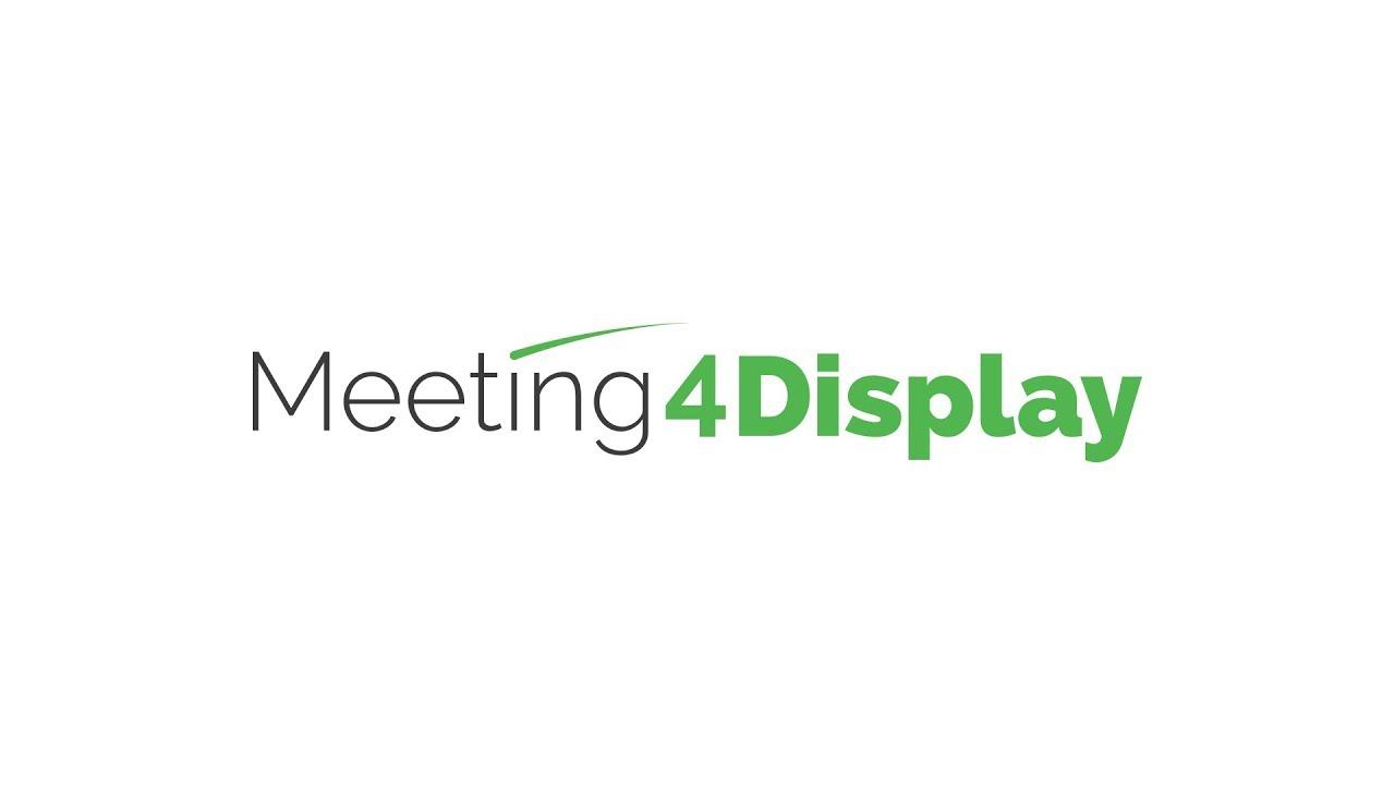 Room Booking Software Meeting4display