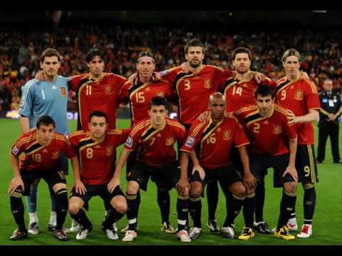 Spain football team - fifa world cup 2010 south africa