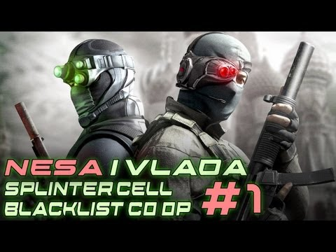 Splinter Cell Blacklist CO OP with LangosNeni - Hawkins Seaport - #1