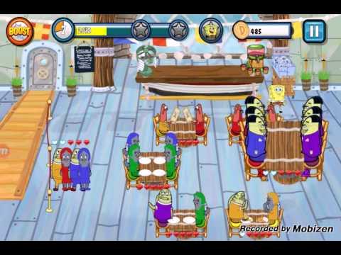 SpongeBob Diner Dash Android Games