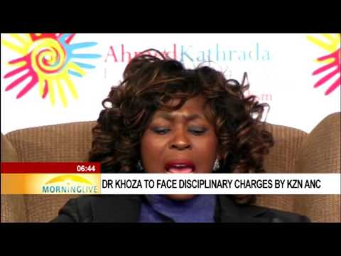 Dr Khoza to face disciplinary charges by KZN ANC