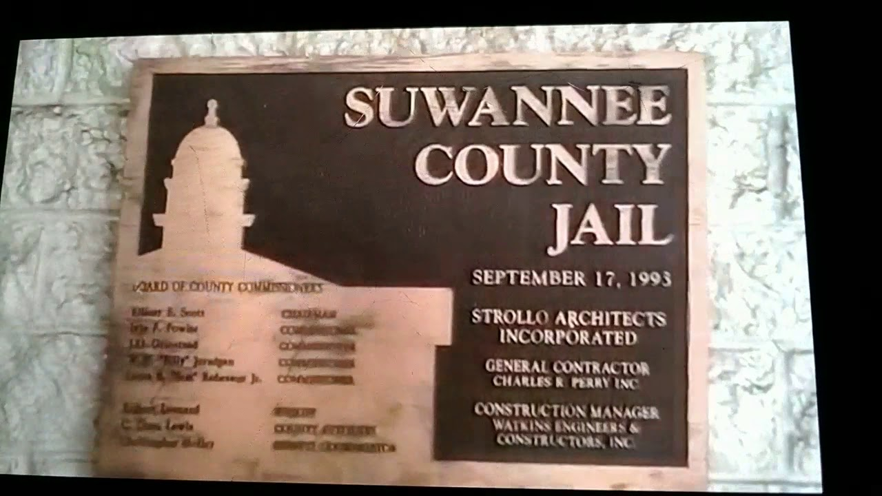 SUWANNEE COUNTY FLORIDA YOU can't film here neither   This is a high  security area