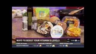 Ways to Boost Your Vitamin D Levels (11/2/15 on KARE 11)