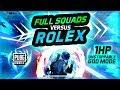 ROLEX VS FULL SQUADS - PUBG MOBILE