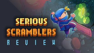 Serious Scramblers Review (Video Game Video Review)