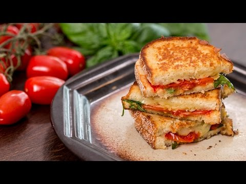 Roasted Tomato Grilled Cheese Sandwich Recipe