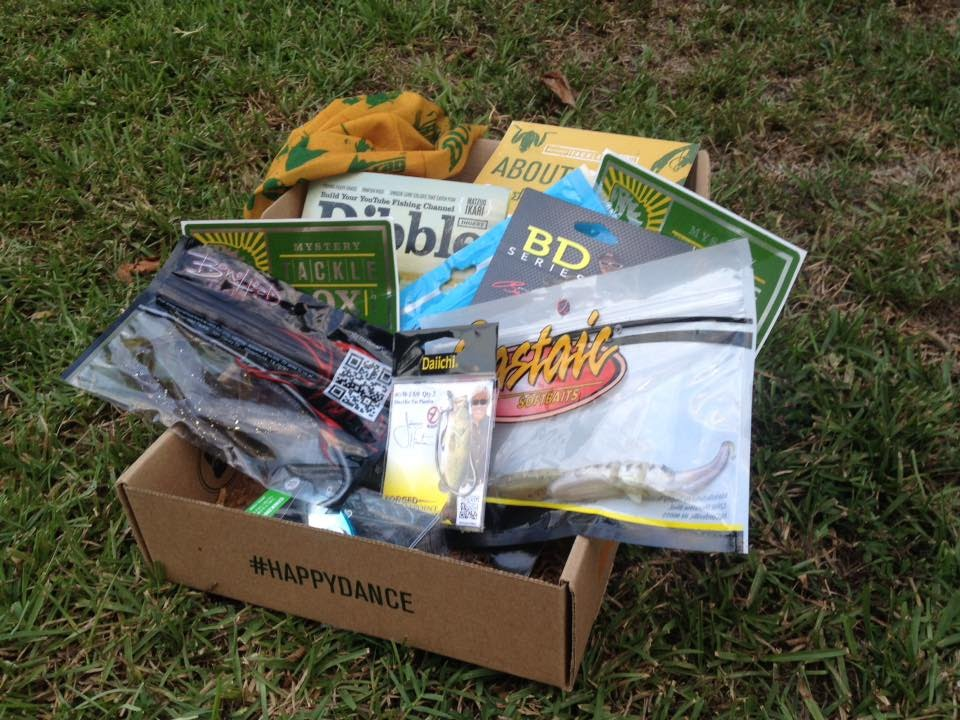 Mystery Tackle Box Unboxing August 2015 Youtube