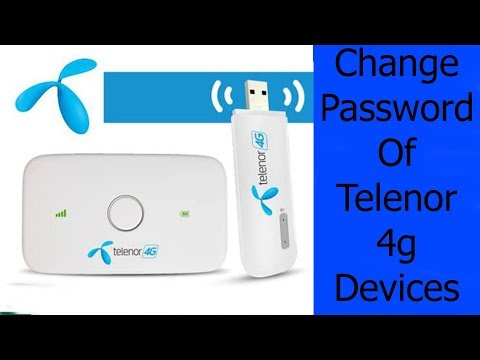How To Change password of telenor 4G devices | Step By Step Gide | Ezacademy
