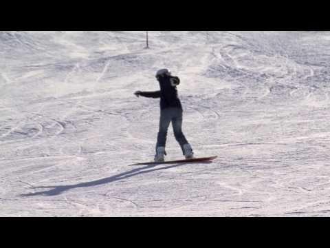 Elaine Koyama 180's Snowboarding