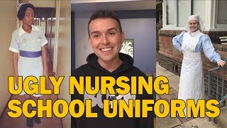 Top 5 Ugly Nursing School Uniforms