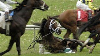 JOHN VELAZQUEZ - Accidente en Keeneland 2006