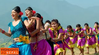Sworgadwari Mai | Nepali  Movie PAHILO MAYA HO MERO Song | Suman Singh, Jharana Thapa