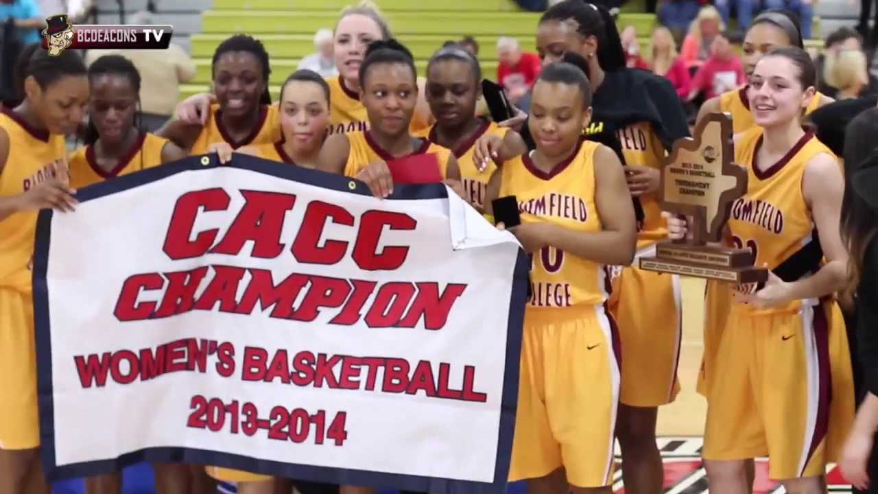 BLOOMFIELD COLLEGE WOMEN'S BASKETBALL CACC CHAMPS - YouTube