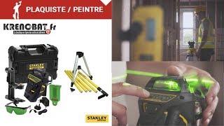 FMHT1-77356 : Niveau laser multiligne X3 - 360° Vert   Stanley
