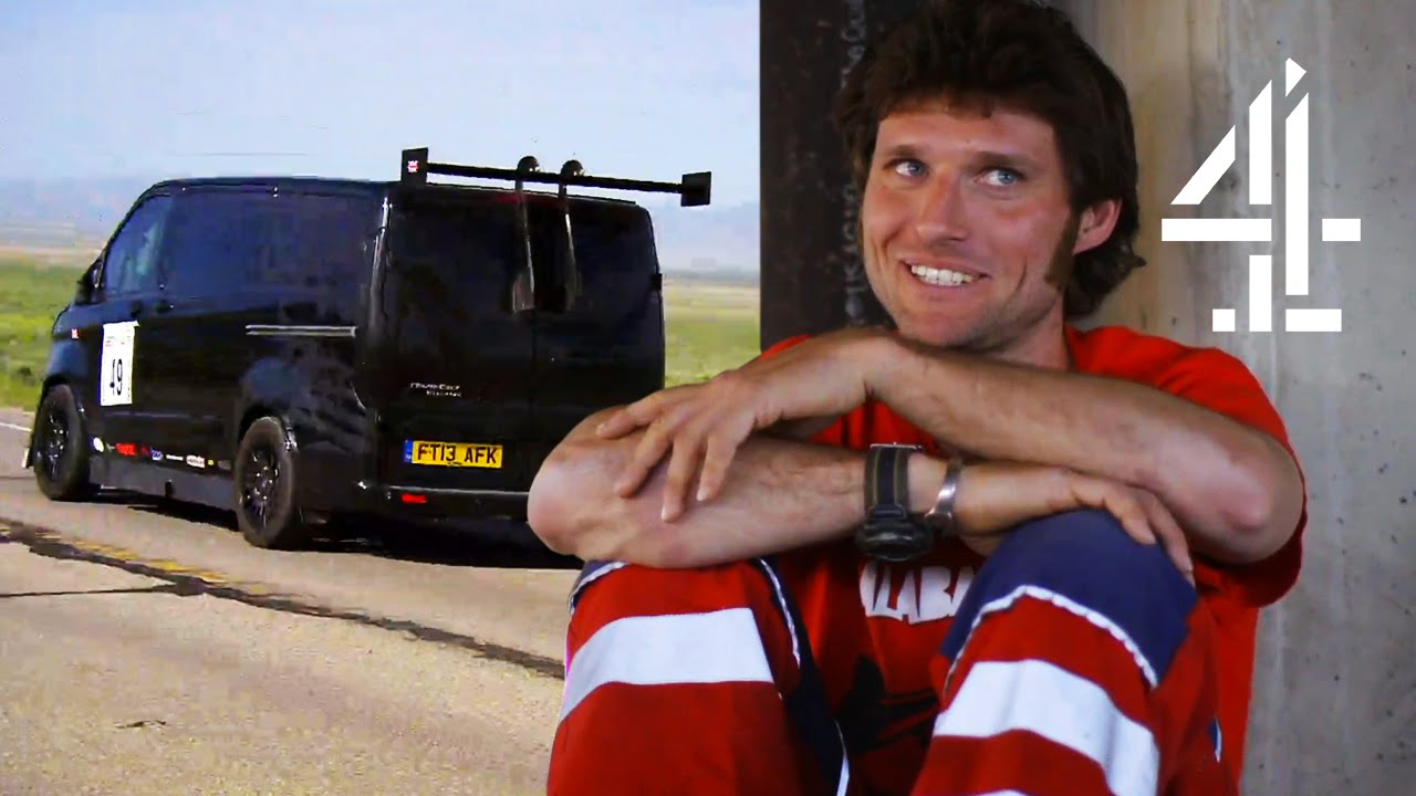 Ford Transit 150 >> Can Guy Martin's Transit Van Go 150mph In The World's Fastest Road Race? | Speed With Guy Martin ...