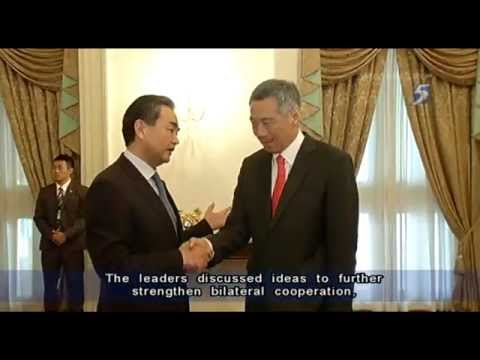 China Foreign Minister Wang Yi in S'pore on official trip - 03May2013