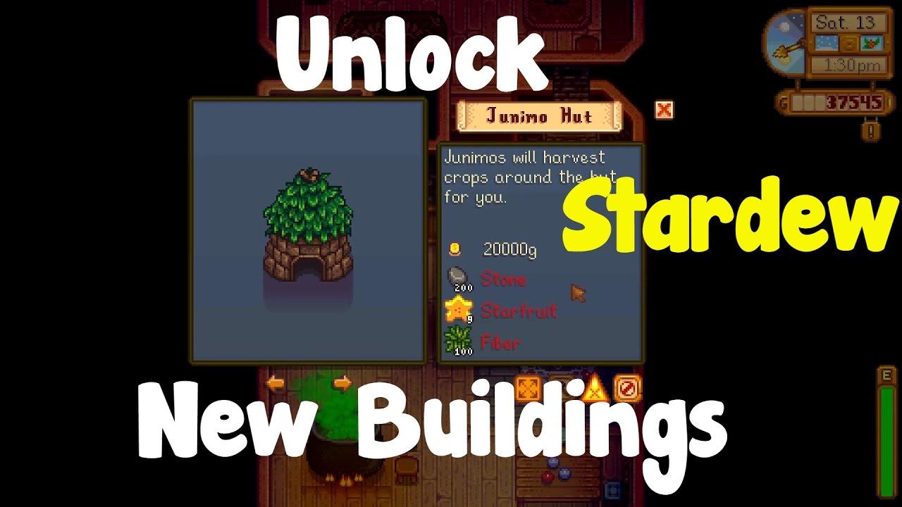 Stardew Valley: How to Unlock New Buildings by Enricofairme