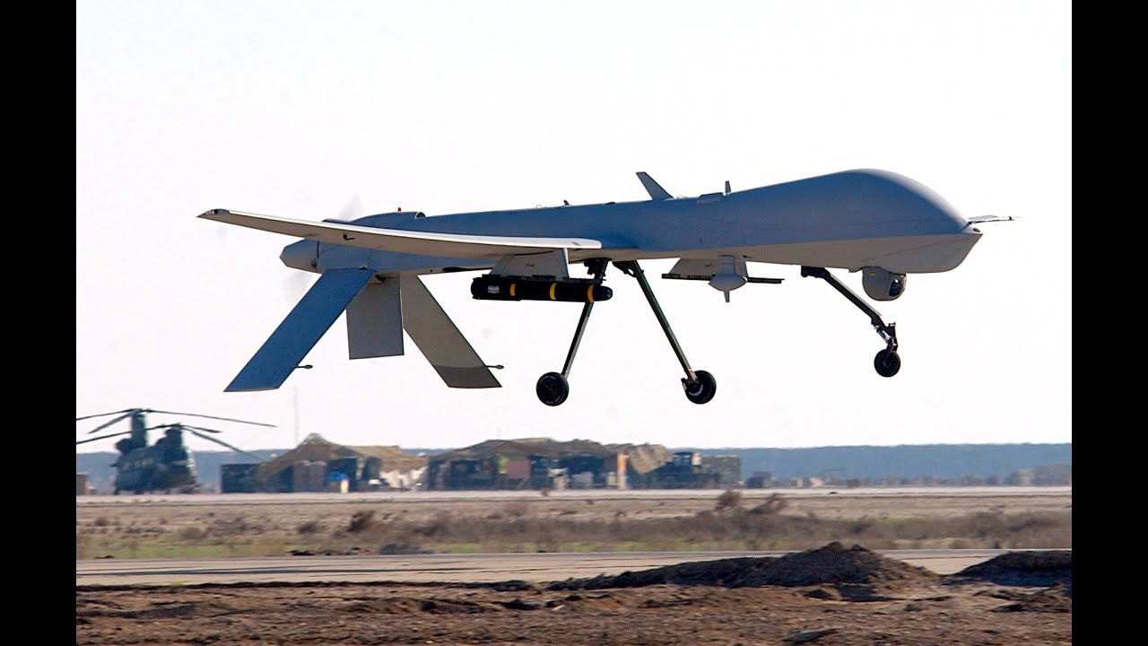 Armed Predator Drones Above IllinoisYou Feel Safer