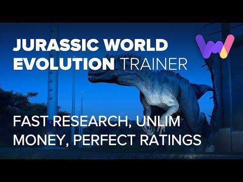 Jurassic World Evolution Cheats and Trainer *Unlimited Money