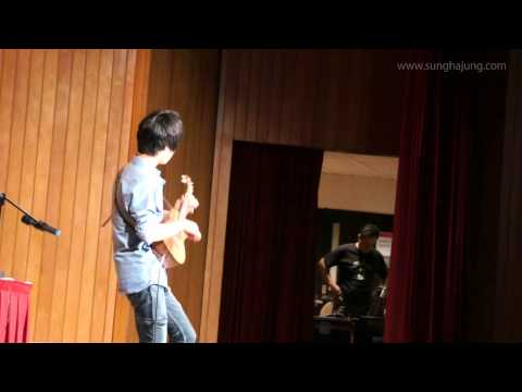 (Beatles) While My Guitar Gently Weeps - Sungha Jung (Ukulele Live)