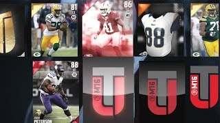 CRAZY LUCK ELITES FLYING OUT OF FREE PACKS! Madden 16 Ultimate Team Budget Squad