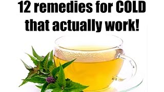✔12 Natural Remedies for Common Cold, that Actually work!!!