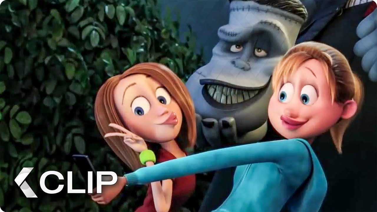 Download Picture With Frankenstein Movie Clip - Hotel Transylvania 2 (2015)