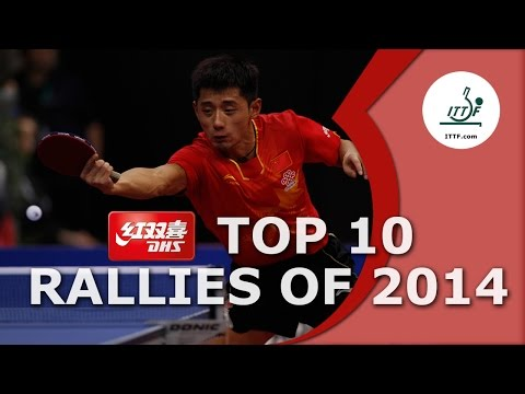 DHS Top 10 - The Best Table Tennis Rallies of 2014