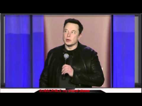 Elon Musk speaks at the Hyperloop Pod Award Ceremony -Elon musk 2016