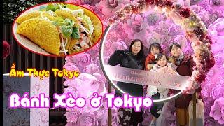 Du lịch Tokyo cùng San Vlog, Ăn Bánh Xèo giữa lòng Nhật Bản - Cuộc Sống Nhật Bản