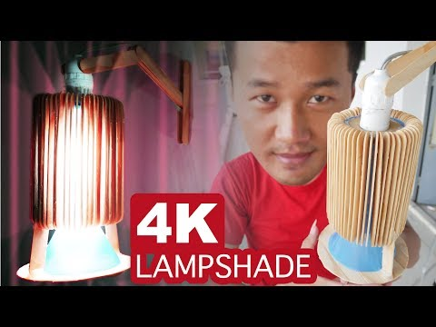 Make Lampshade DIY home decor idea - Amazing awesome homemade