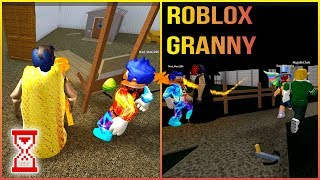 Субботняя игра Улучшили рекорд на Офисе   Roblox Granny Spider Pet