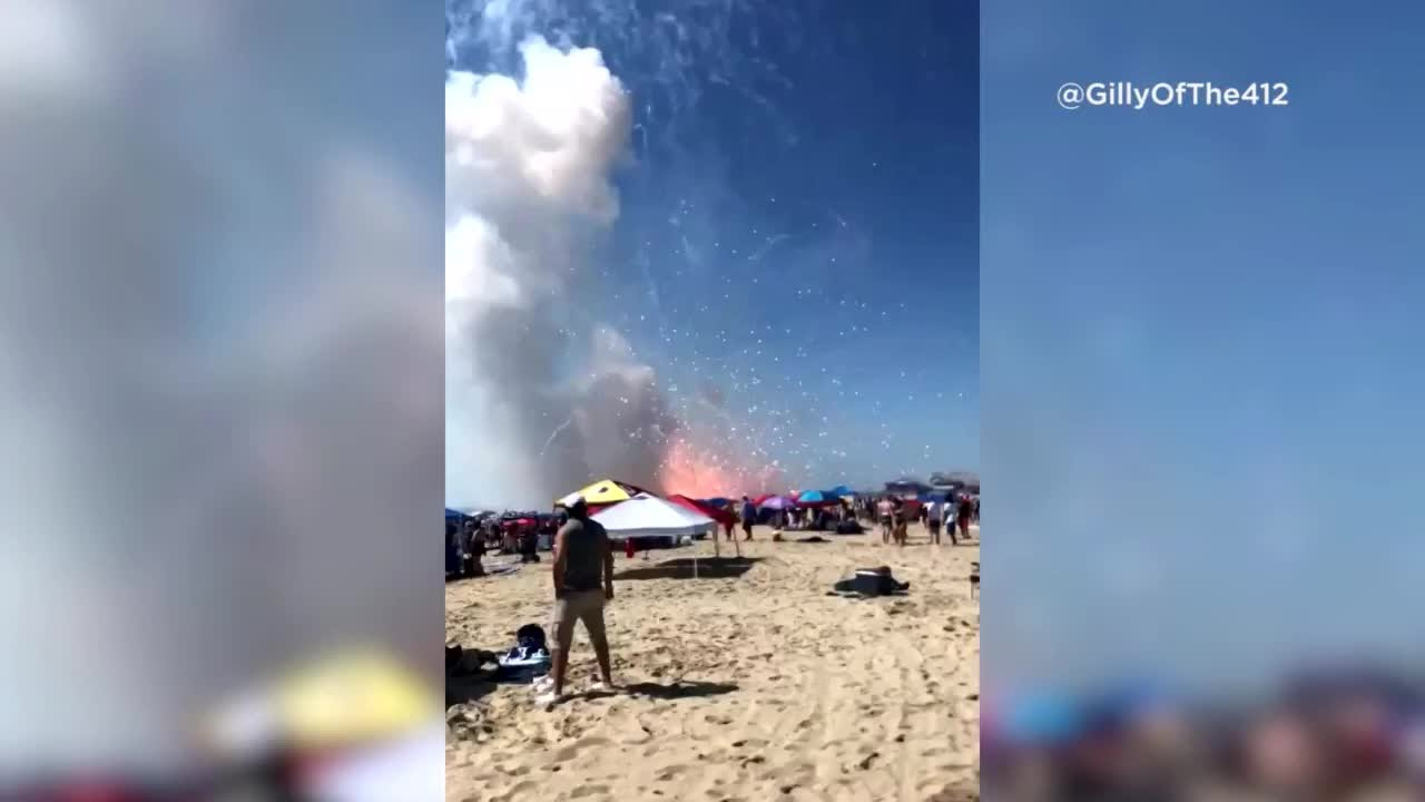 More explosions possible in Ocean City Monday as firework incident ...