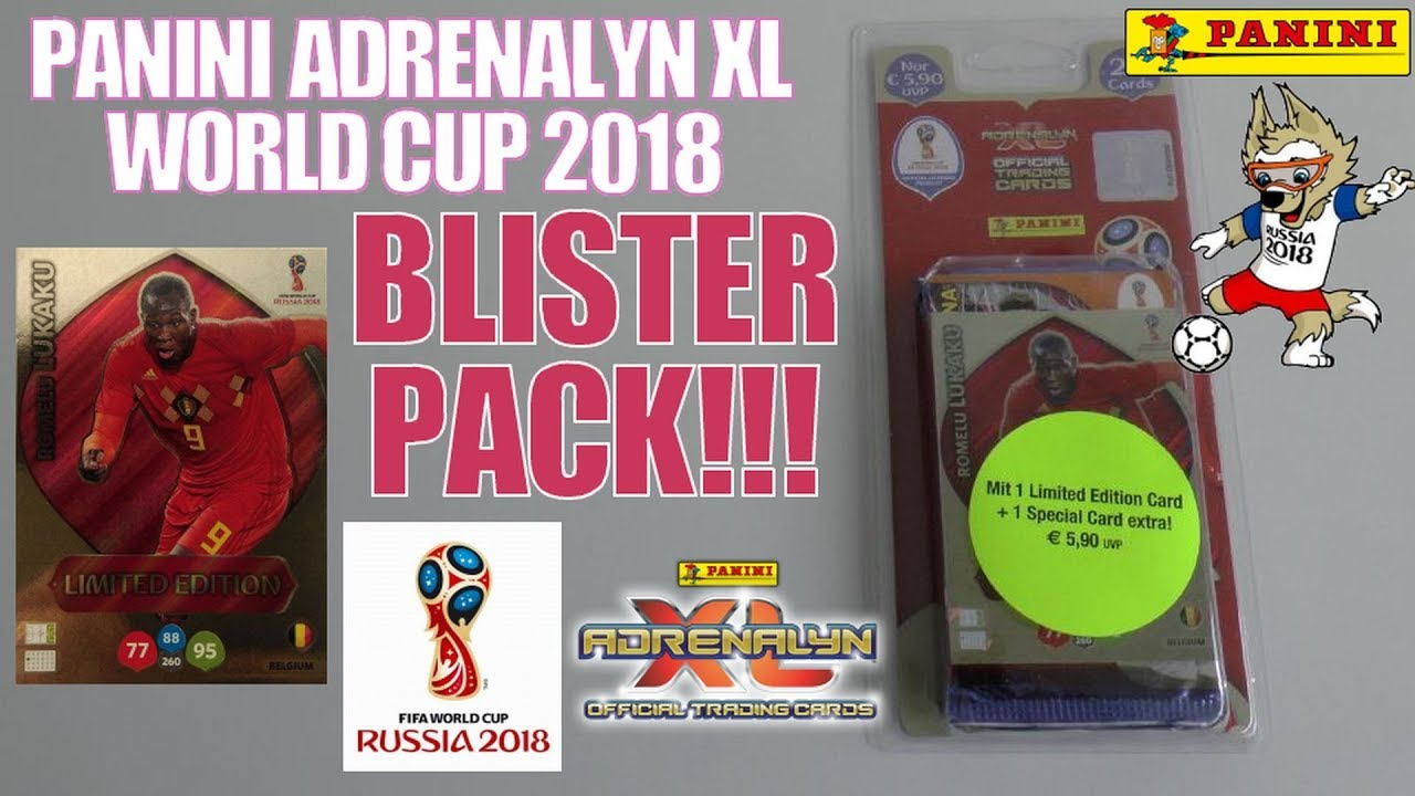 4 Booster Limited Edition Panini Adrenalyn XL UEFA Euro em 2020 1x blister incl